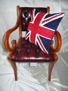 eather armchair