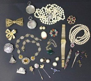 mostly costume jewellery