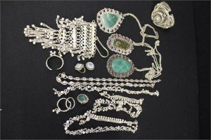 solid silver Indian jewellery