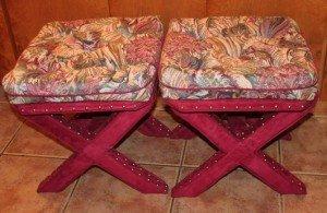 ottoman bench stools