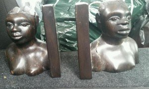 African book end ornaments