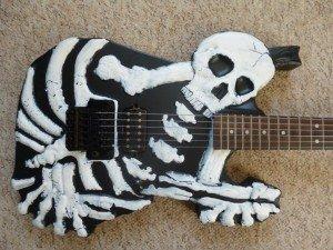 electric custom guitar