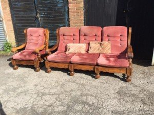 wood furniture set