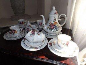 German porcelain tea set
