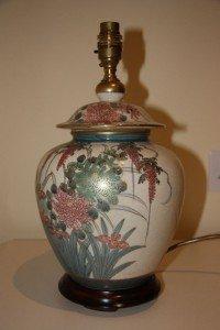 vase shaped table lamp