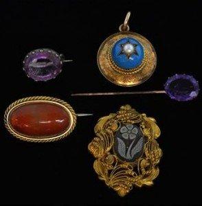 19th century jewellery