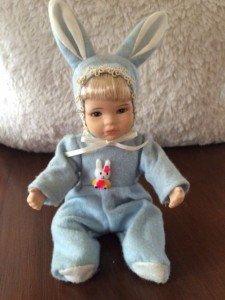 porcelain children's doll