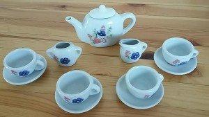 toy porcelain tea set,