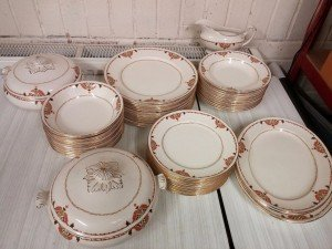 collection of plates