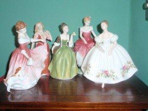 Royal Doulton dancing ladies