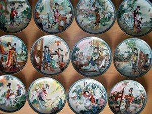 Jingdezhen porcelain plates