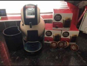Nescaffe coffee machine