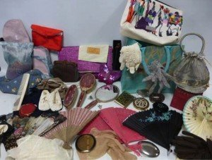 collection of vintage accessories