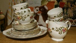 Queen Ann tea set