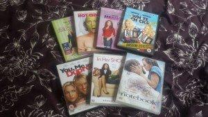 seven dvd's