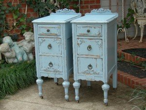 blue side drawers