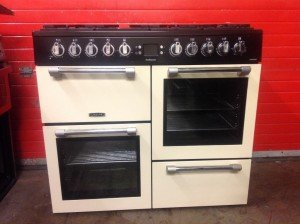 dual fuel gas cooker