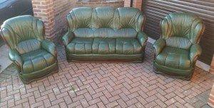 vintage Italian sofa suite,