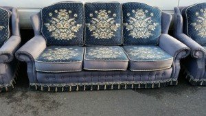 three piece suite sofa