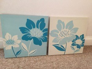 matching wall canvases
