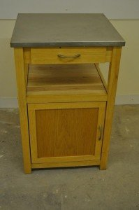pine kitchen storage unit