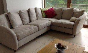 low back corner sofa