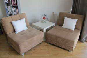 single fold out sofa beds