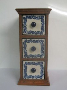 vintage decorative drawers