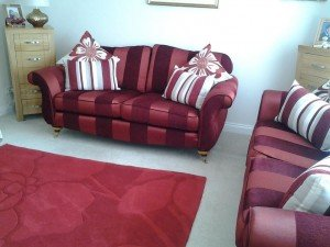 patterned upholstered sofas