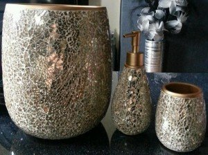 gold crackle bathroom accessories. bathroom accessories House Clearance In Lanark  South Lanarkshire Scotland