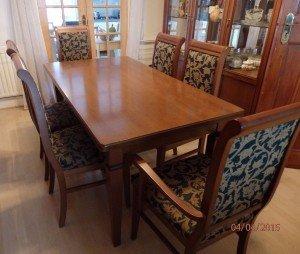 Italian vintage dining table