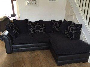 two piece corner sofa