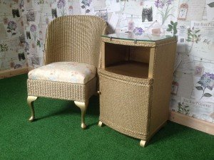 wicker living room set c