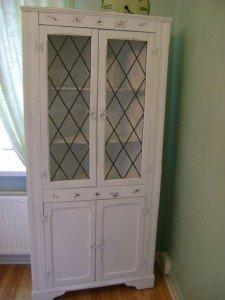 corner storage cabinet