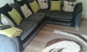 low back corner sofa