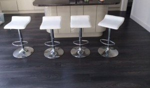 chrome swivel bar chairs