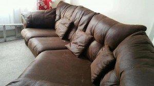 recliner corner snuggle sofa