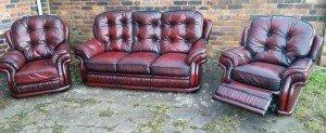 reclining sofa suite