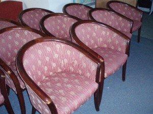 mahogany tub chairs