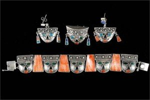 Mexican silver jewellery