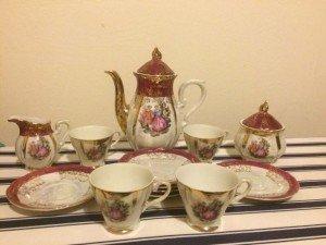 Japanese tea set,