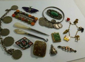 costume and silver jewellery