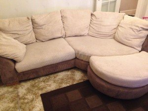 two piece sofa