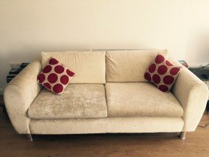 two seater luxurious sofa