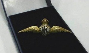 sweetheart wing brooch