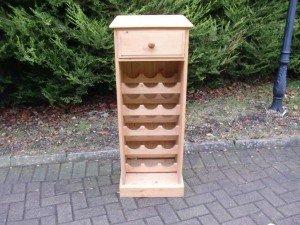 solid pine kitchen unit