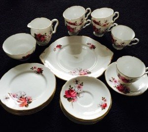 royal Staffordshire tea service
