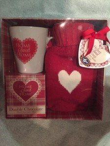 boxed red gift set