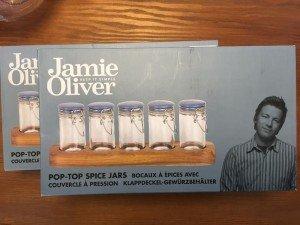 Jamie Oliver spice jar sets