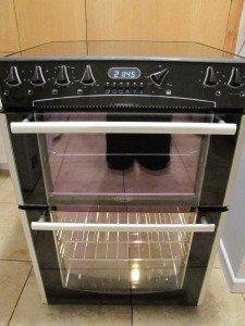 Beling electric halogen double oven